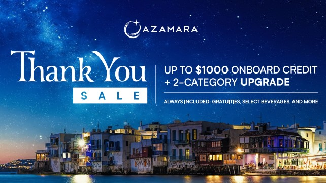 Thank you Sale from AZAMara